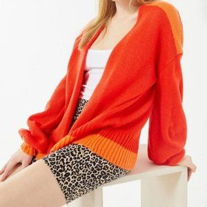 NWT Urban Outfitters Truly Madly Deeply Bri Oversized Balloon Sleeve Size XS